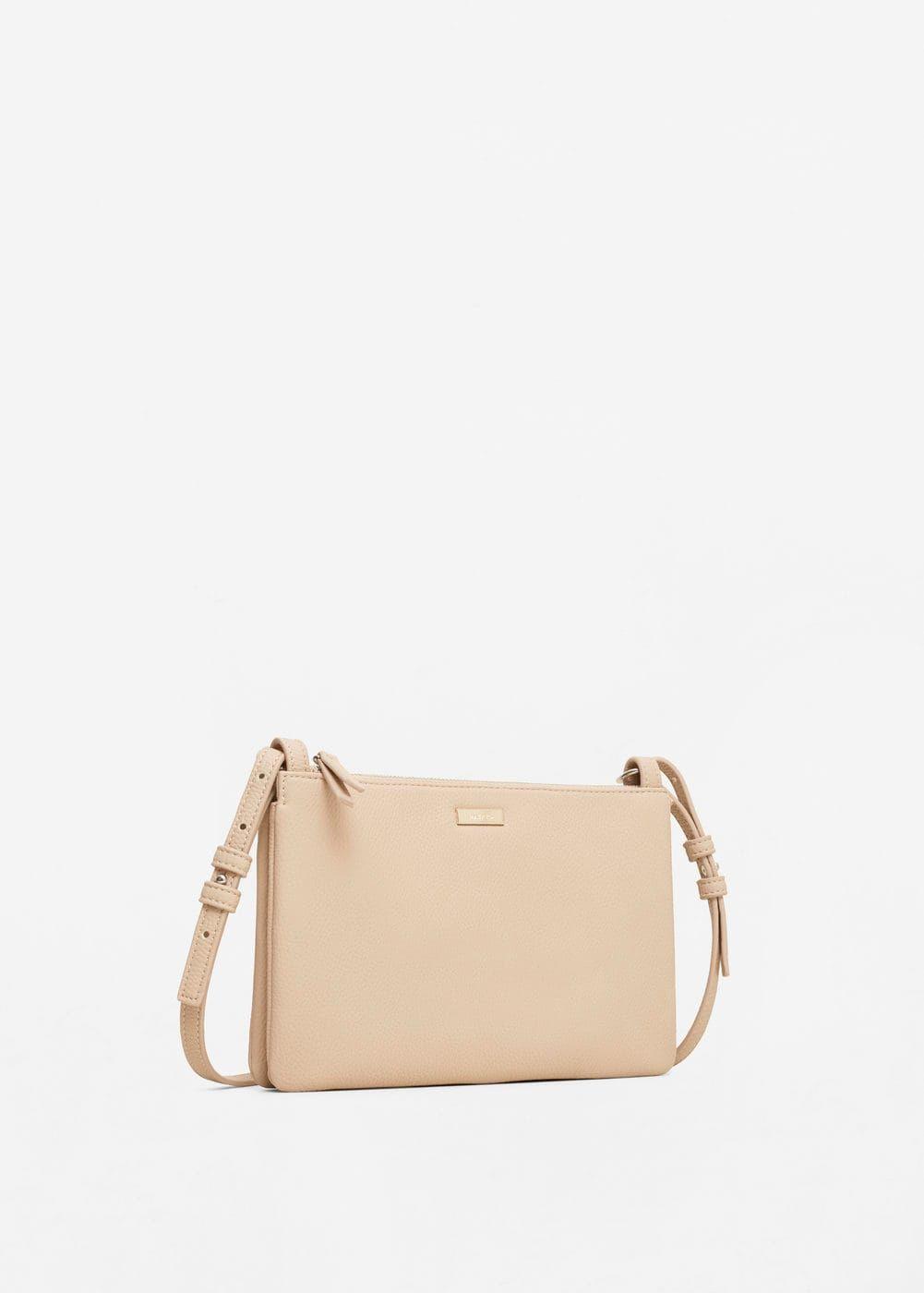 abeae5137 Zipped pebbled bag - Woman | Spring style | Bags, Crossbody bag ...