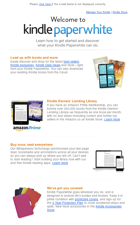 Kindle EDM | EDM | Direct mailer, Direct mail, EDM