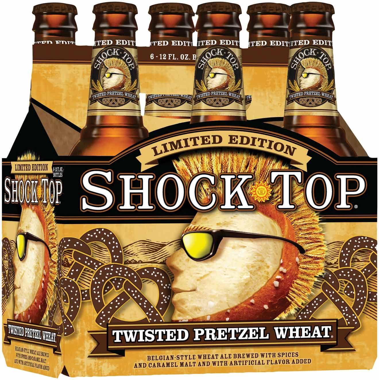 Shock Top Brings Back Twisted Pretzel Wheat | Beer News | Pinterest ...