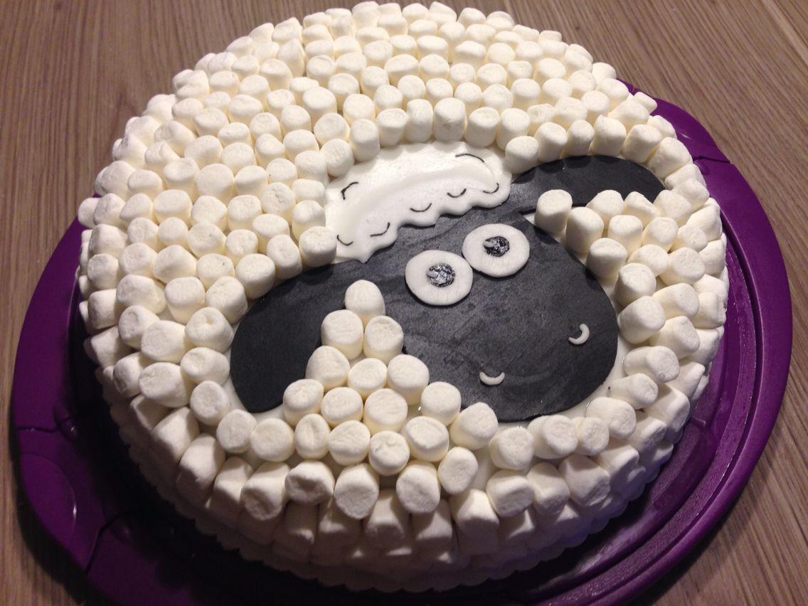 Shaun Das Schaf Torte Schafe Kuchen Kuchen Kindergeburtstag Ostern Backen