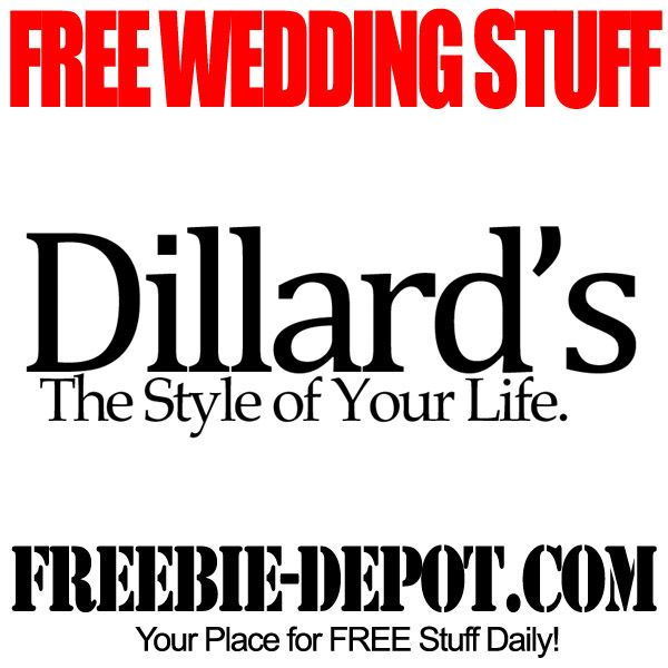 Dillards Wedding Gifts: FREE Registry Gifts And