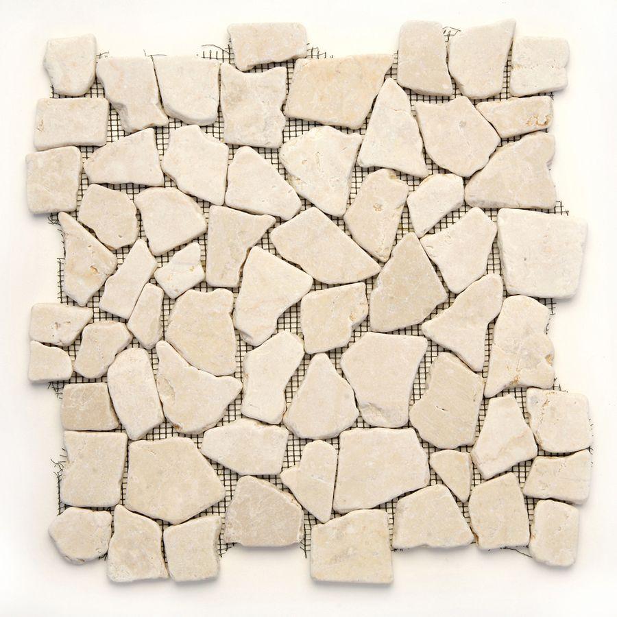 Solistone Indonesian Pebbles 10Pack Jakarta Moon Mosaic