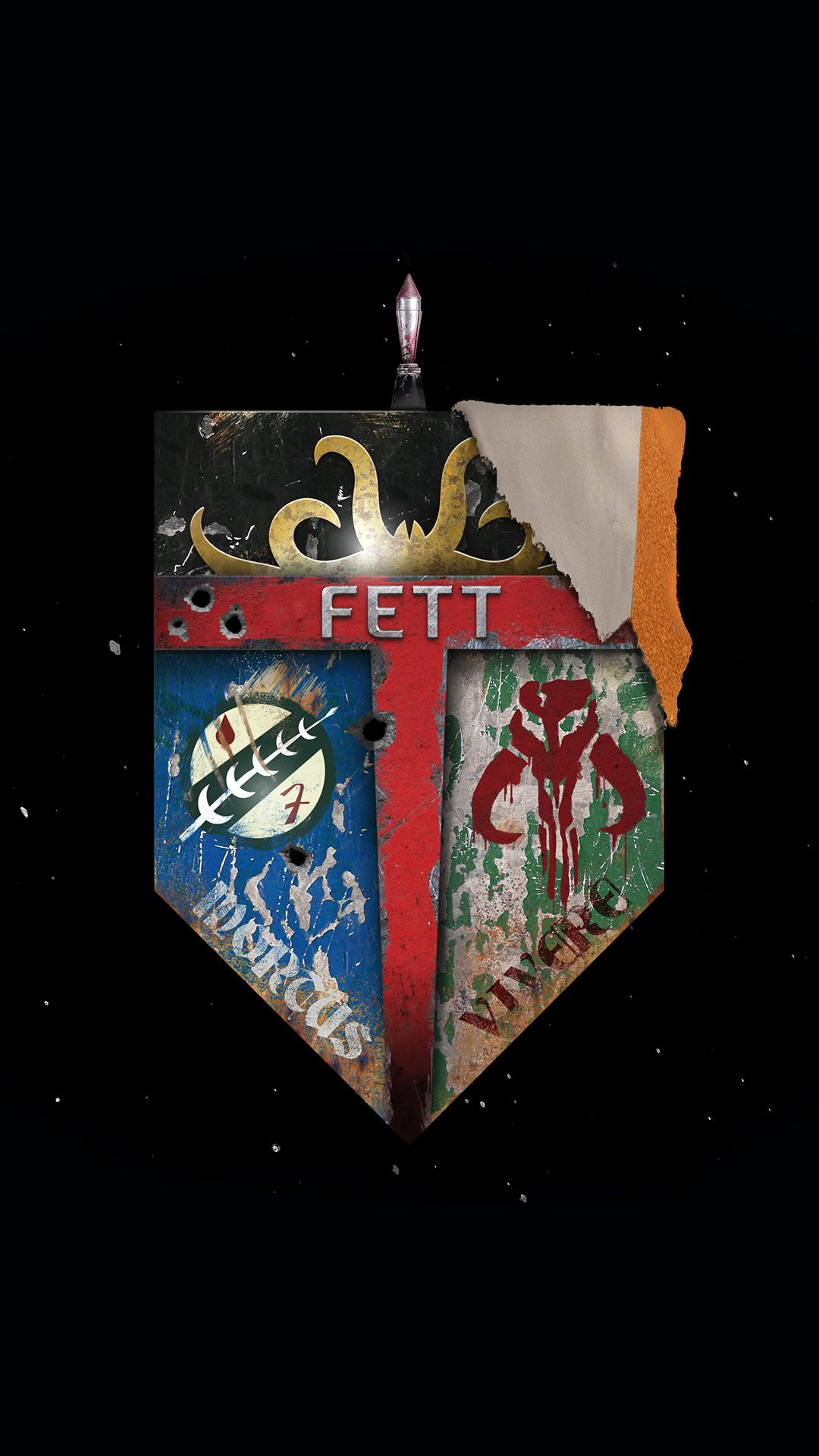 Star Wars Family Crest Fett Dead Or Alive Iphone 6