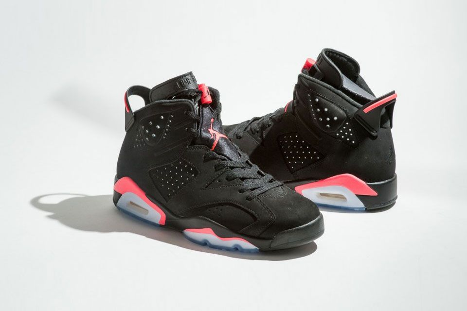 "new concept 97128 ada67 Air Jordan VI ""Black Infrared"" Returns Black Friday"