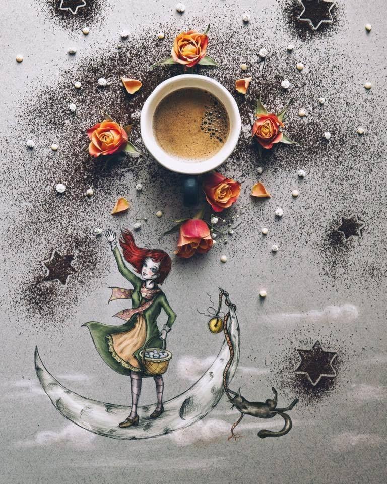 картинки для творчества кофе того, повысите статус