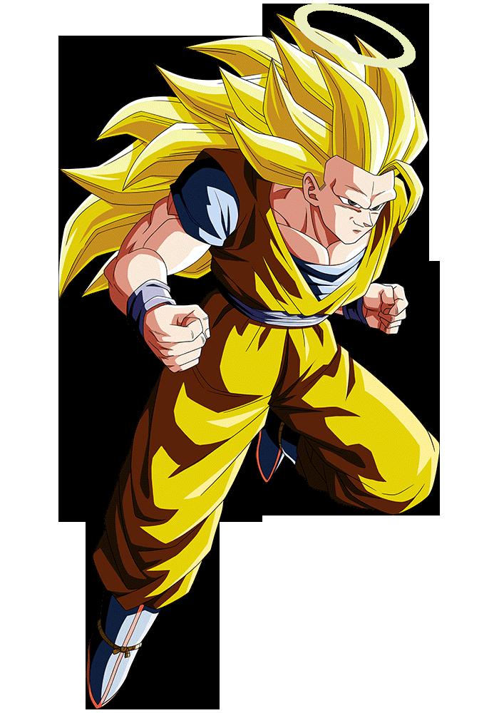 Goku Ssj3 Render 5 Dokkan Battle By Maxiuchiha22 On Deviantart Dragon Ball Goku Dragon
