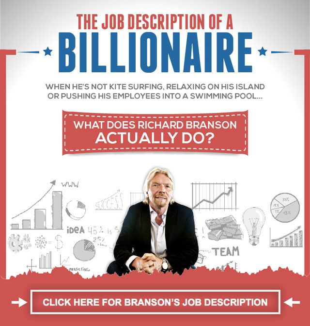 The Job Description Of A Billionaire - Sir Richard Branson - management analyst job description