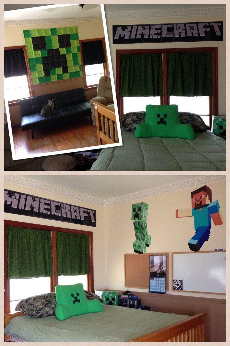 Amazing Minecraft Bedroom Decor Ideas Minecraft Bedroom