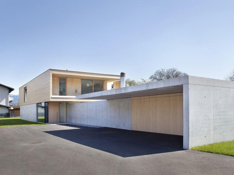 Untertrifaller architekten haus g architecture for Moderne architektur wohnhaus