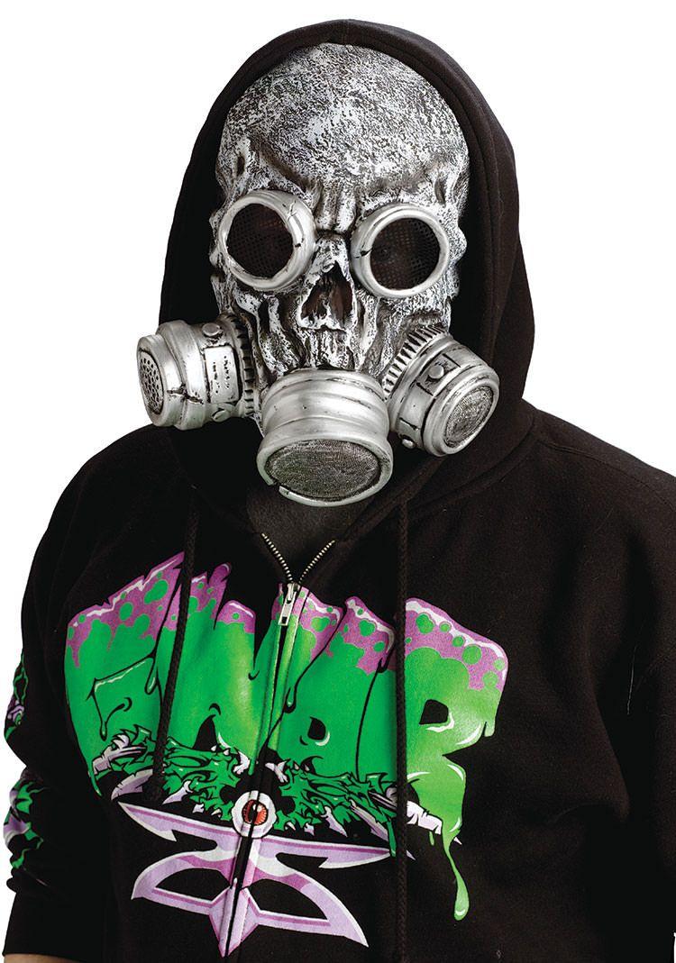 Silver Bio Zombie Gas Scary Mask | Men Costumes | Pinterest ...