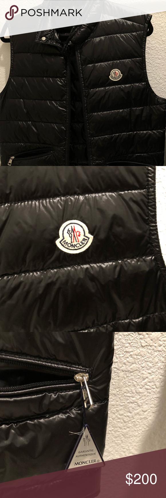 Moncler lightweight puffer vest authentic Puffer vest