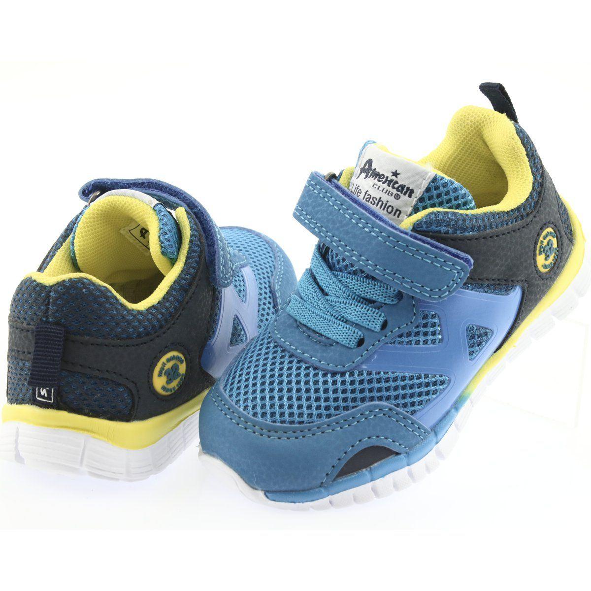 Buty Sportowe Blue American Club Es35 Buty Sportowe Buty I Buty Dzieciece