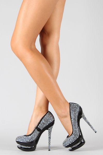 1773b3c1c80 Sapato Importado Preto Pedraria - Nina Belly Acessórios Femininos Importados