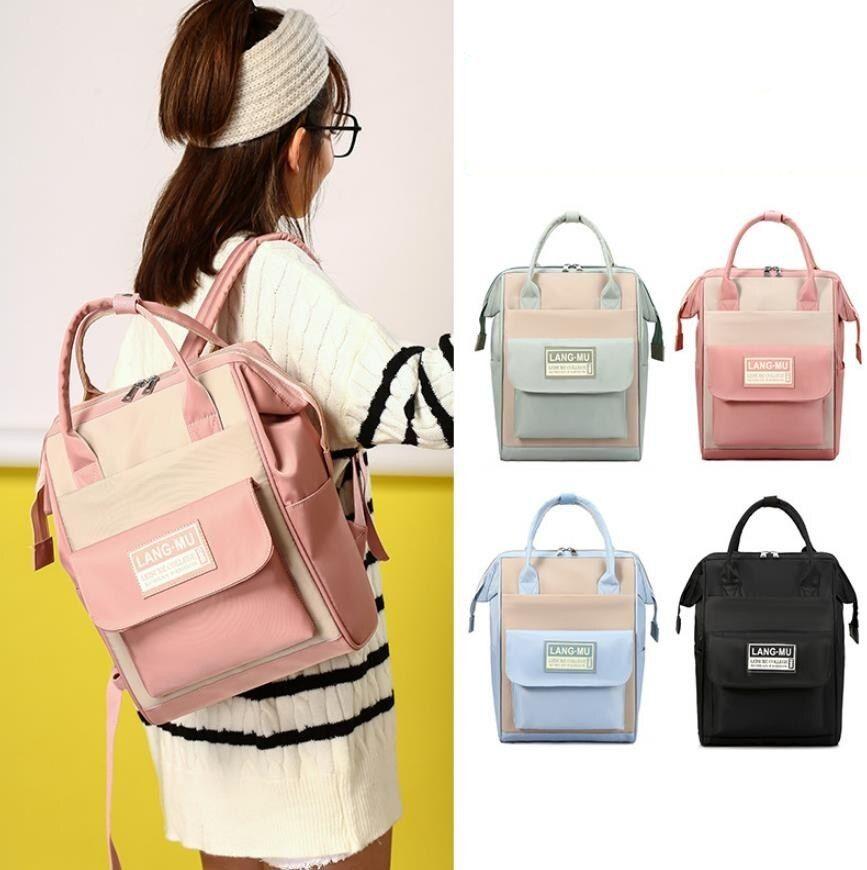 Large Capacity waterproof Mummy Bag multifunction Maternity Nappy Bag Travel Backpack Nursing Bag for Baby Care Women FashionBag