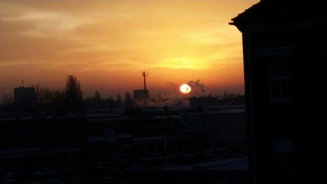Sonnenaufgang wie bei Mary Poppins