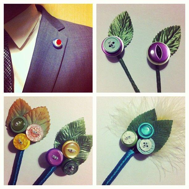 Button buttonholes