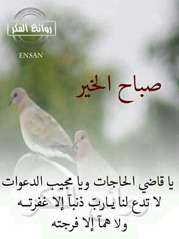 صباح الخير Cool Words Beautiful Morning Words