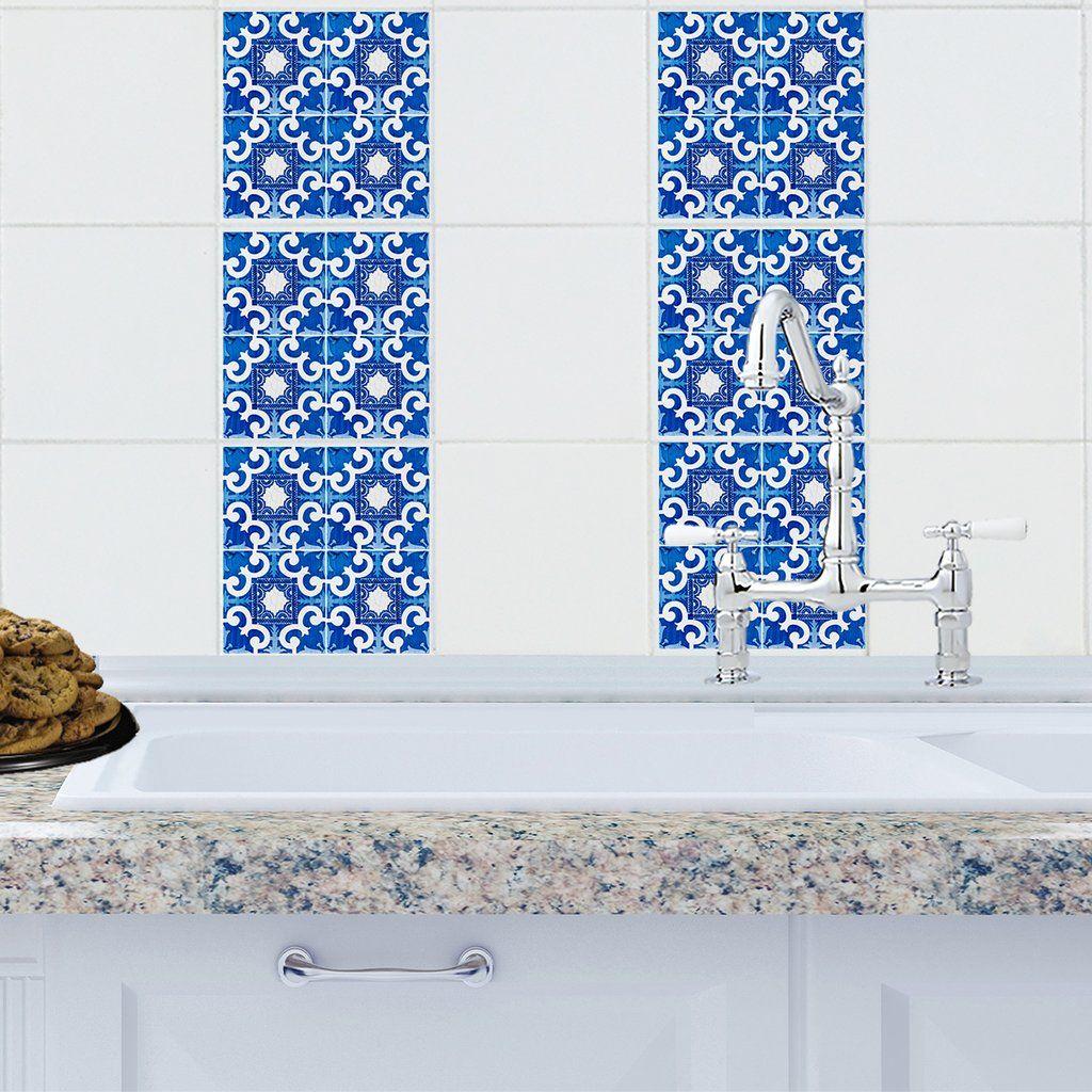 Mosaic Majorca Tile Decals | Tile decals, Majorca and Mosaics