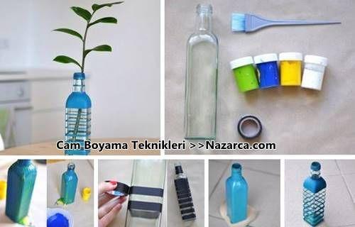Cam şişe Boyama Teknikleri Teneke Kutu Kaplama Ve Cam şişe Boyama
