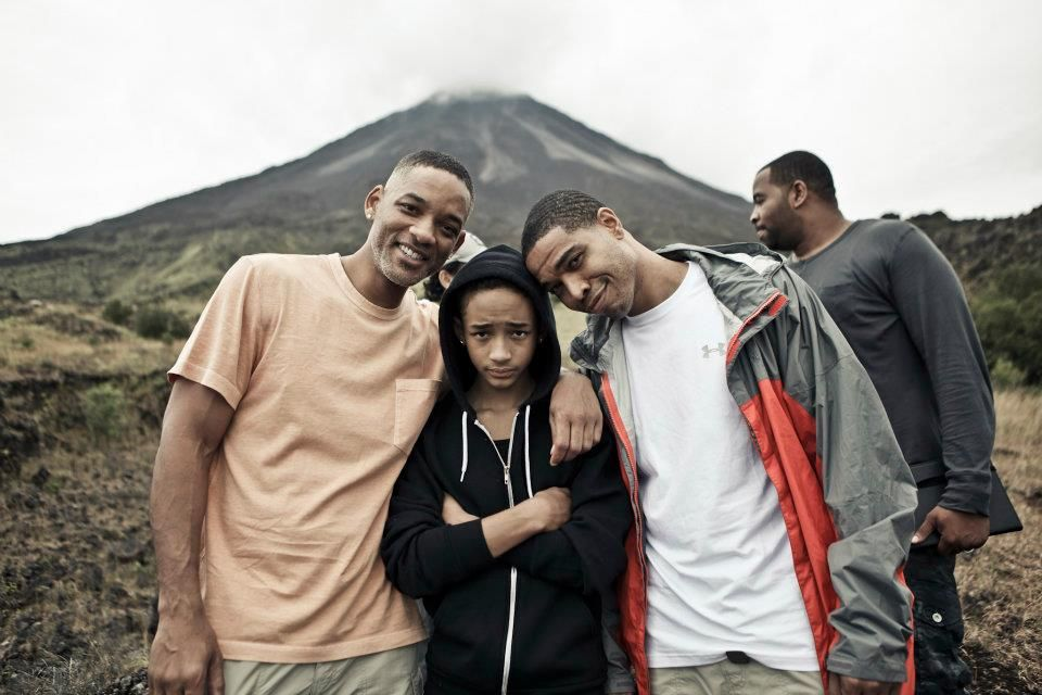 Jaden Smith, behind the scenes of After Earth