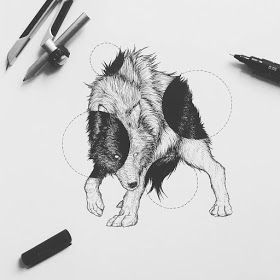 Surrealism Employed to Draw Animal Illustrations