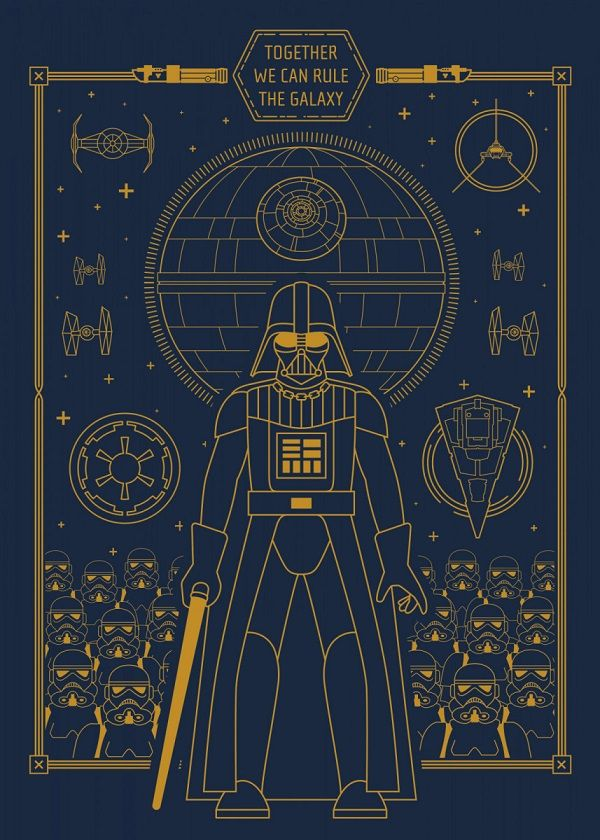 """Official Star Wars Diagrams Objectives And Motivations Vader #Displate explore Pinterest""""> #Displate artwork by… 
