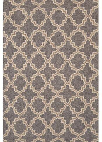 Dash Albert Plain Tin Charcoal Hooked Wool Rug Home Pinterest