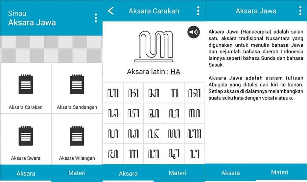 Membuat Aplikasi Pengenalan Aksara Jawa Construct 2 Tulisan Aplikasi Bahasa