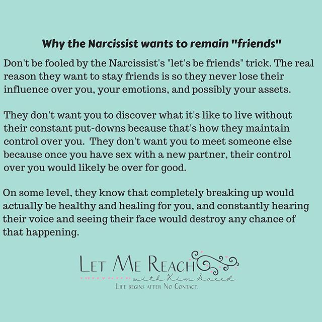 What Does No Contact Do To A Narcissist