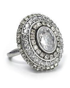 1930s Diamond ring.