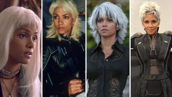 Storm S Progression Of Hair Halle Berry Storm Halle Berry Hair Styles
