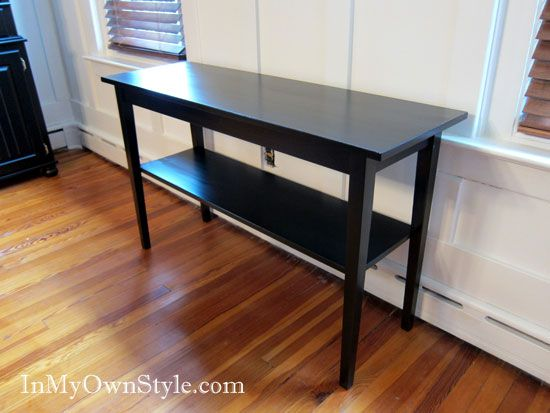 Painting Furniture Black Stain Vs Black Paint Staining Furniture Black Painted Furniture Furniture Makeover