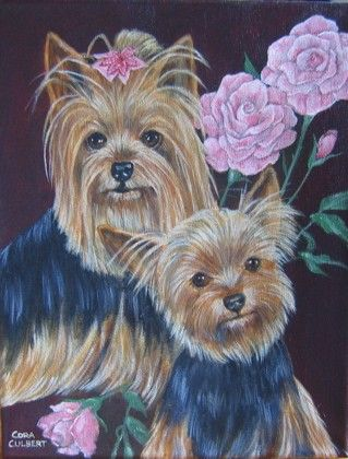 CUSTOM PET PORTRAIT painting 11x14 Junkyard Dog ART on Etsy, $199.00