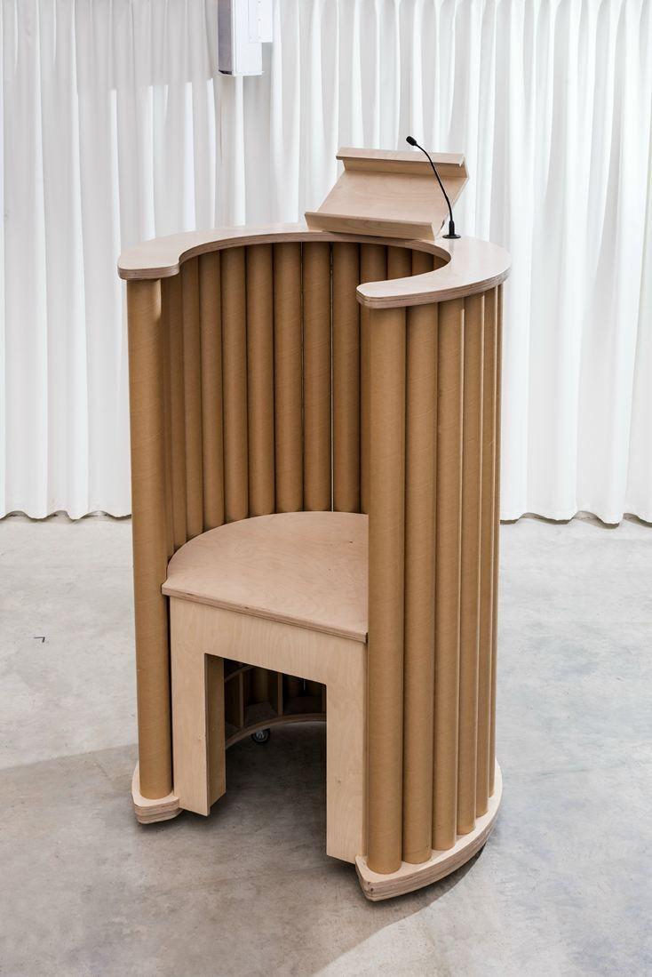The Transitional Cardboard Cathedral Design By Shigeru Ban  # Muebles De Tubos De Carton