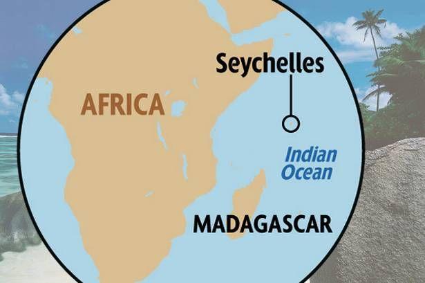 Seychelles Map Seychelles Pinterest Seychelles Seychelles - Map of seychelles world