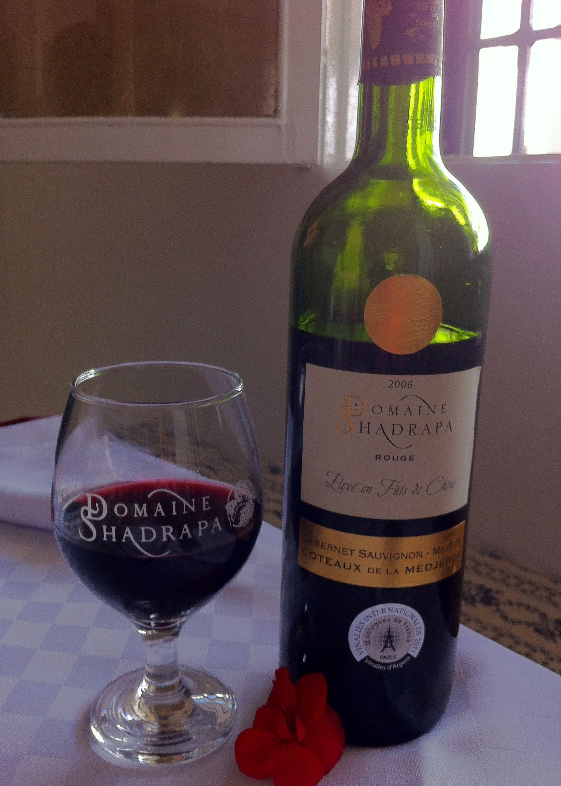 Les Vins De Tunisie Domaine Shadrapa Tunisia Wine Alcoholic