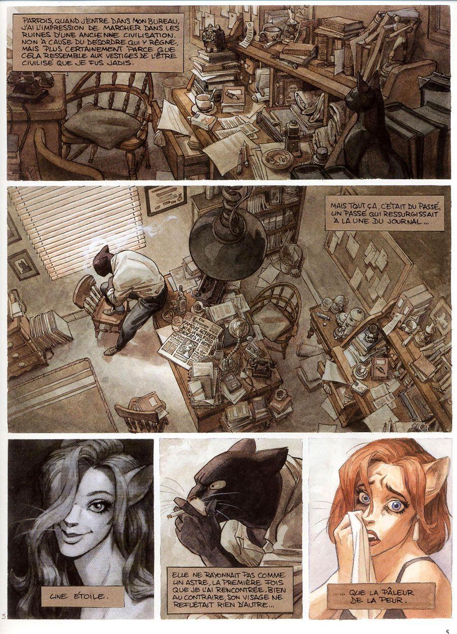 Trosper and Ignatz Meet Gentle Giant: Best comics of 2010: No. 1 (tie) : Blacksad