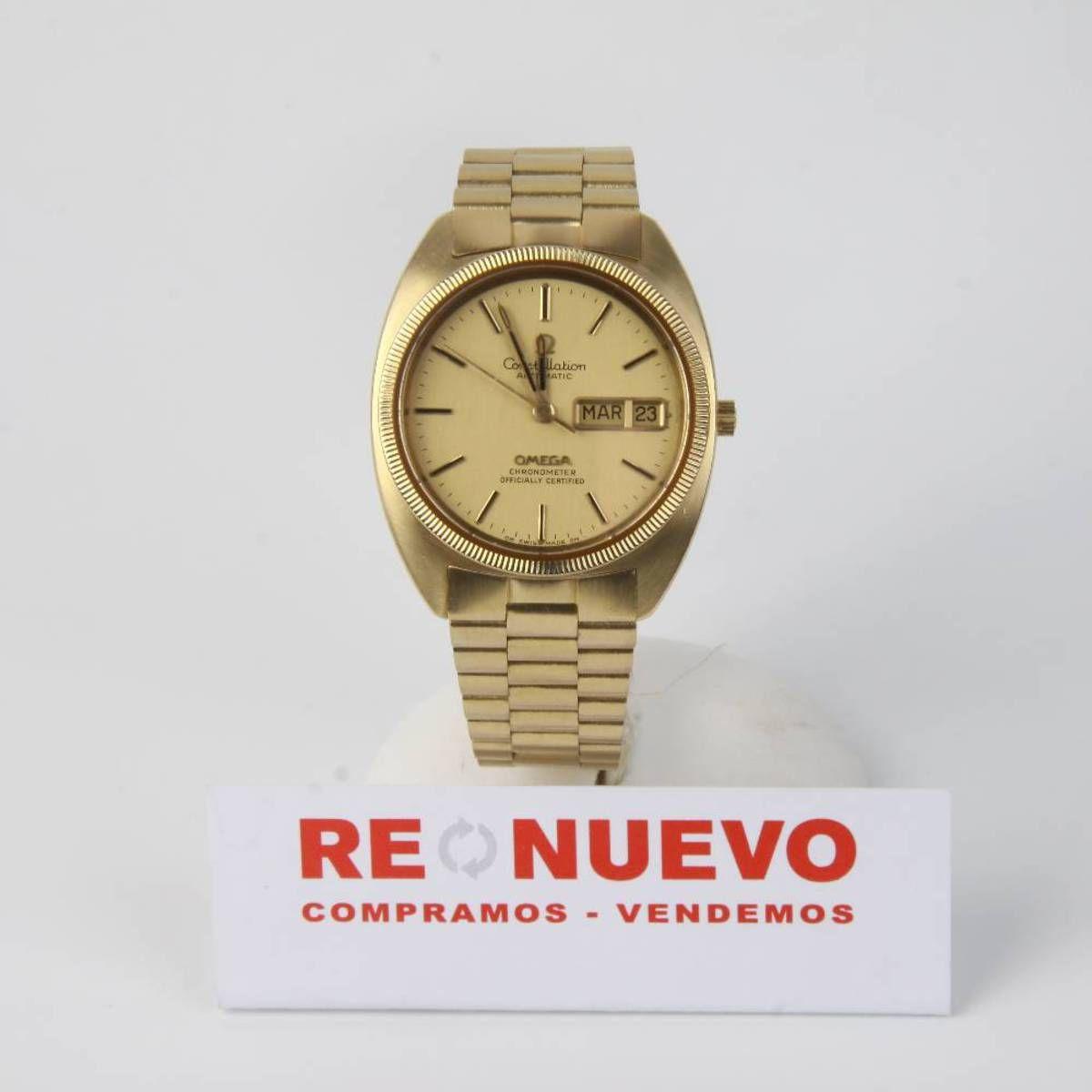 1623a1cd29ed Reloj OMEGA CONSTELLATION de oro de segunda mano E271884