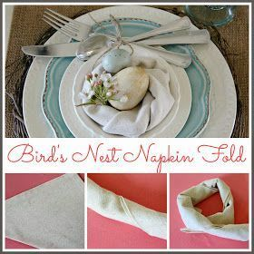 DIY Napkins and Bird's Nest Napkin Fold #diynapkinfolding Hymns and Verses: DIY Napkins and Bird's Nest Napkin Fold #diynapkinfolding DIY Napkins and Bird's Nest Napkin Fold #diynapkinfolding Hymns and Verses: DIY Napkins and Bird's Nest Napkin Fold #diynapkinfolding