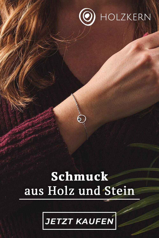 Holzkern Schmuck | Holzkern