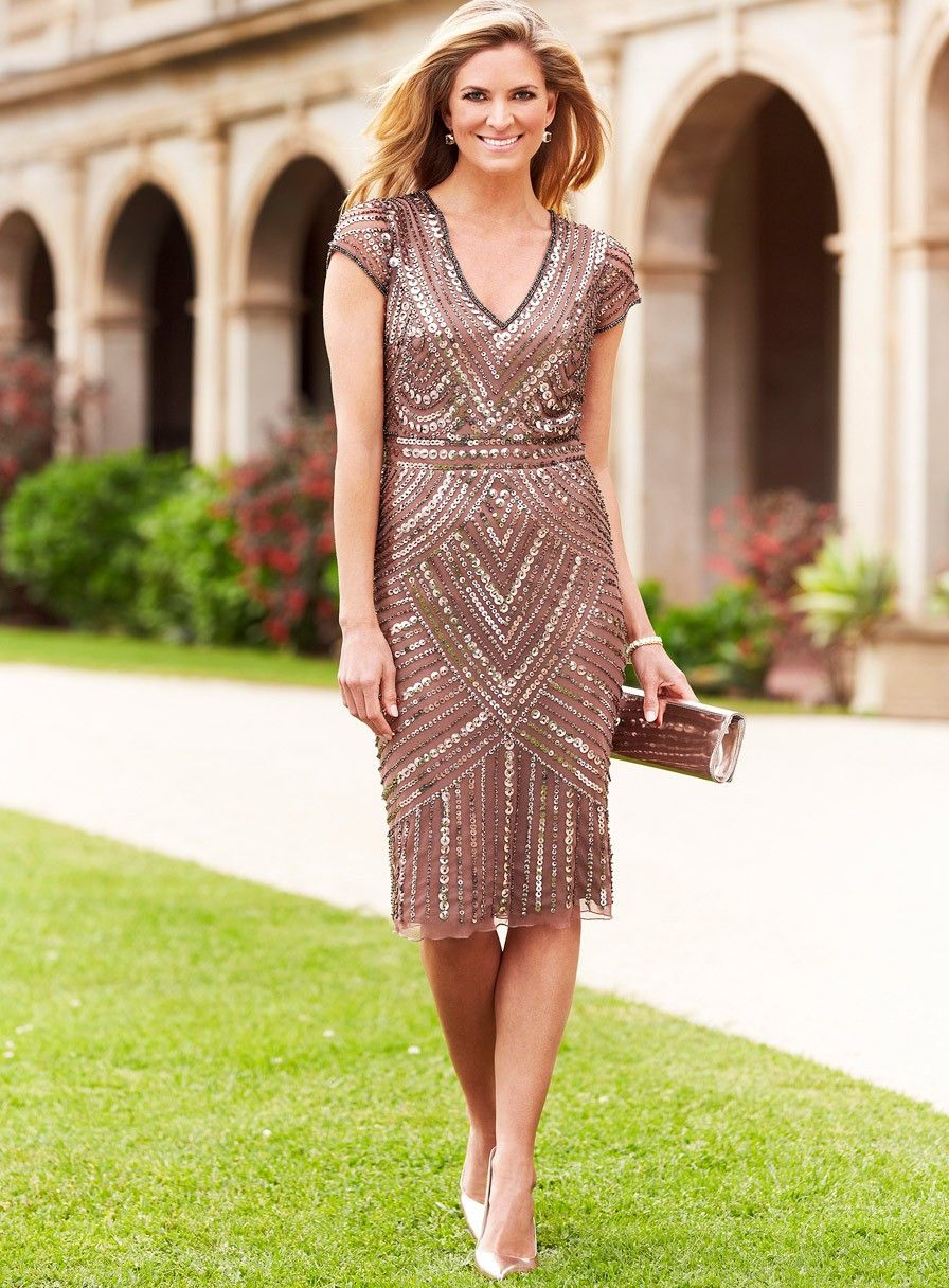 Coop beaded dress a gorgeous cocktail dress by australian for Wedding guest designer dresses