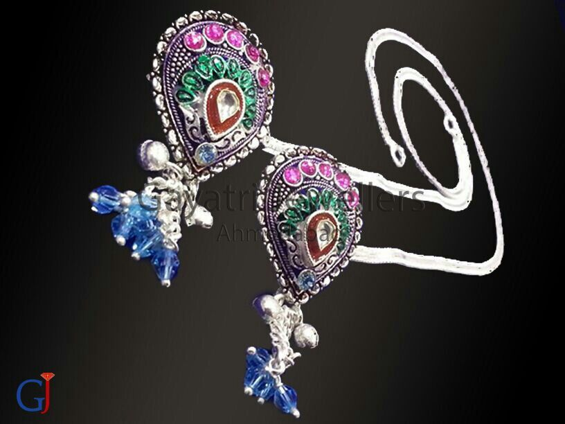 Trending silver brooch payal , #indian #traditional #jewellery ...