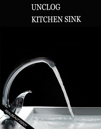 SIMPLE TRICKS TO UNCLOG KITCHEN SINK | Kitchen sinks, Simple and ...