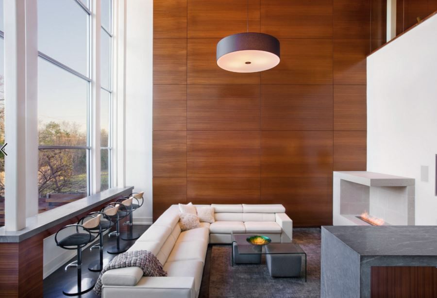 20 Rooms With Modern Wood Paneling Modern Wall Paneling Wood Panel Walls Luxury Living Room