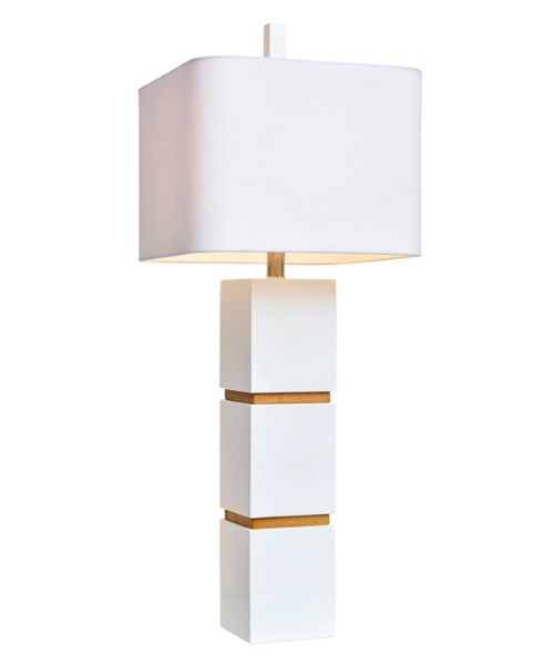Couture lamps wilshire table lamp white table lamps at hayneedle
