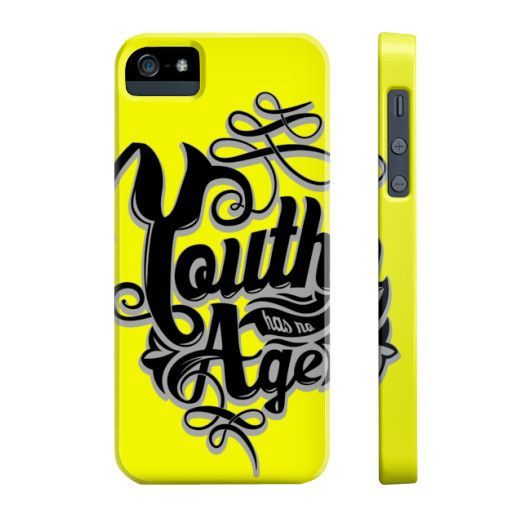 Youth Has No iPhone Case