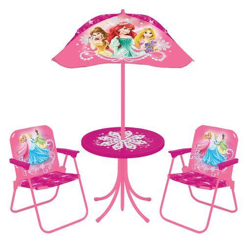 Found It At Wayfair Princess Kids Round Patio Set