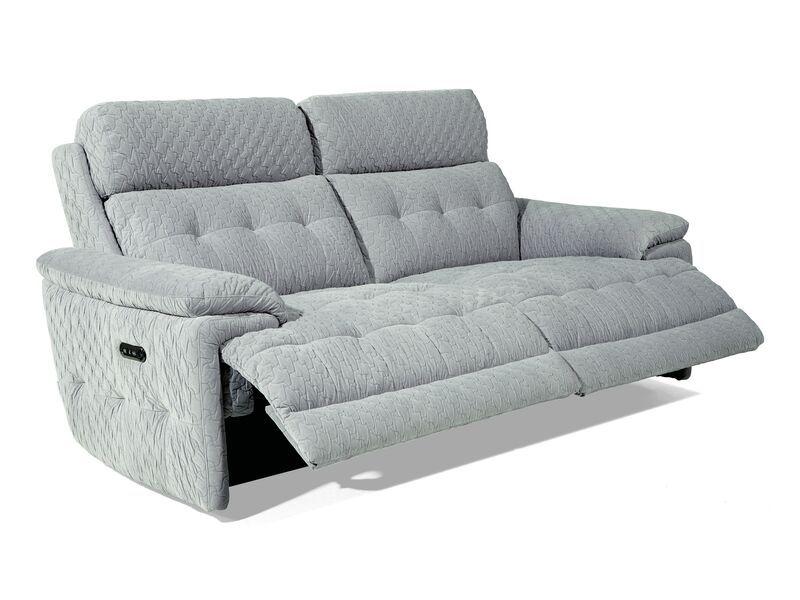 La Z Boy Rockville 3 Seater Power Recliner Sofa   Reclining
