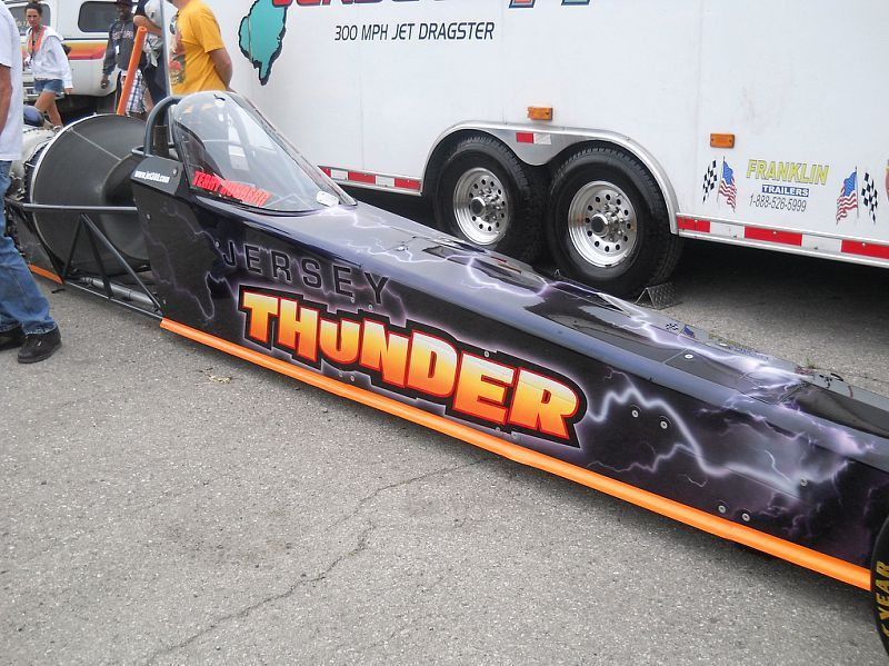 Jersey Thunder-the world's fastest JET powered dragster