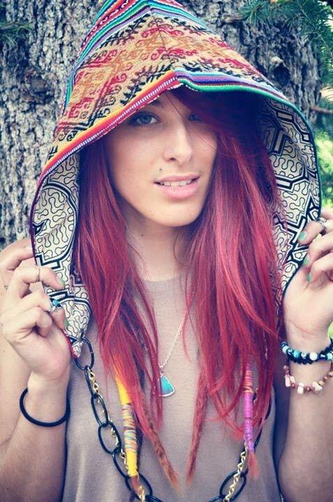 Luna Hooded Top Festival Gypsy Hippie Boho